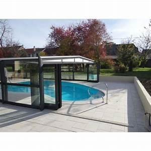 Fabriquer Un Abri De Piscine : l 39 abri de piscine mi haut un compromis entre abri haut ~ Zukunftsfamilie.com Idées de Décoration