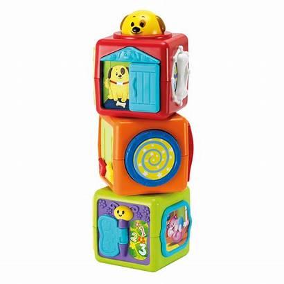 Blocks Play Items Stack Winfun Toys Activity