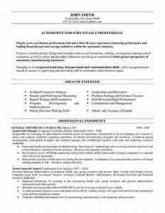 Click here to download this automotive finance for Resume templates for finance professionals
