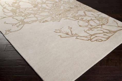 soft colors organic lines surya modern nature rug