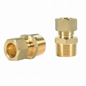 Everbilt 1  2 In  X 3  4 In  Compression Fitting-15003