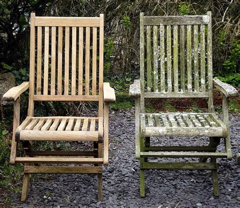 ideal cleaning outdoor teak furniture porch and