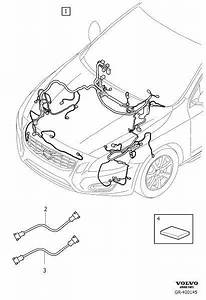 2014 Volvo S60 Wiring Harness  Active Chassis  Cable