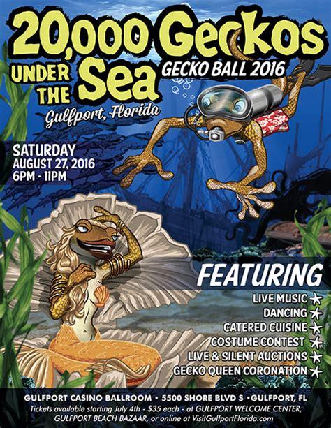 """Gecko Ball 2016 – """"20,000 Geckos Under the Sea"""""""