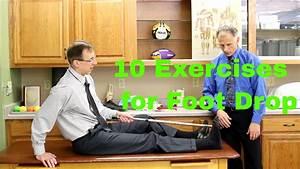 10 Exercises For Foot Drop After Stroke  Nerve  Or Muscle Damage  Weak Ankle  U0026 Foot