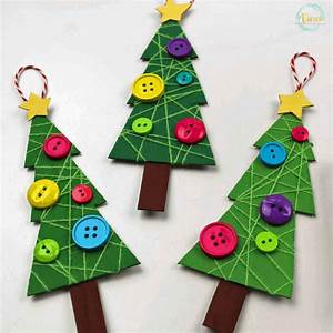 This, Christmas, Tree, Ornament, Craft, Uses, Recycled, Cardboard, And, Wrapped, String, To, Make, Adorable
