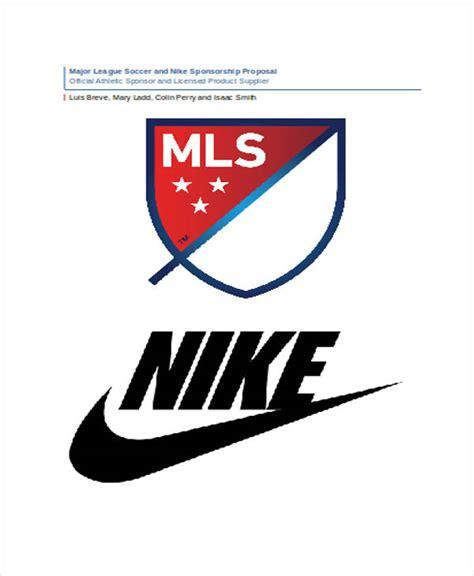 team sponsorship proposal template   word