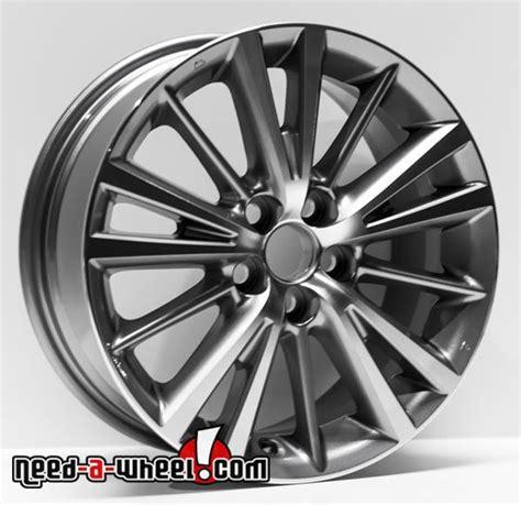 16 quot toyota corolla replica wheels 2014 2017 machined