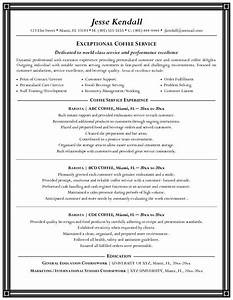 barista resume sample experience resumes With barista resume template