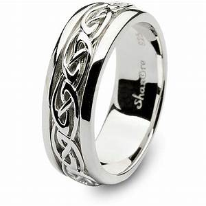Mens celtic wedding rings shm sd11 for Celtic wedding rings for men