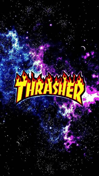 Thrasher Iphone Wallpapers Galaxy Dope Weed Hypebeast