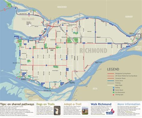 Steveston Bike Map