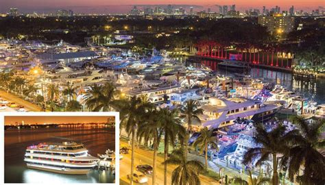 Boat Show Miami 2018 Collins by Miami Yacht Show Takes Vip Experience To New Heights In