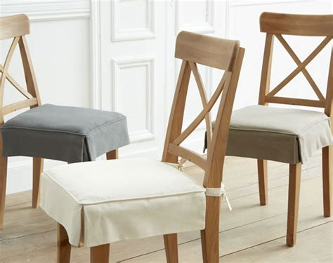galette de chaise volantée housse de chaise galette de chaise coussin de chaise