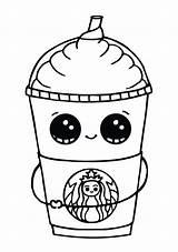 Coloring Kawaii Printable Eyes Starbucks Sheets Teach Animal G1a sketch template