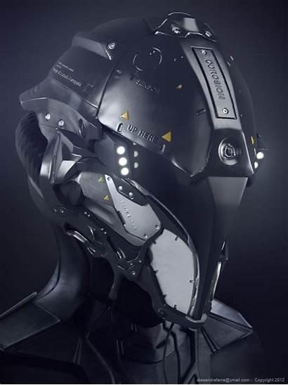 Futuristic Helmet Space Motorcycle Mecha Robot Badasshelmetstore
