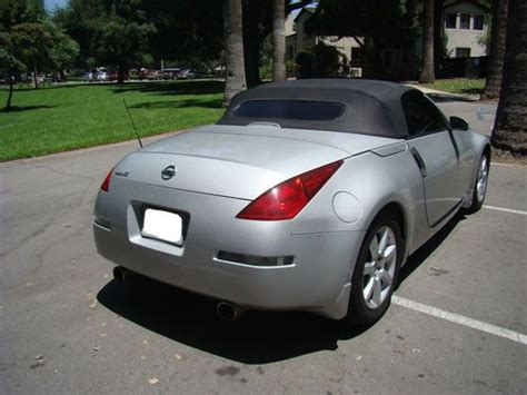 all car manuals free 2004 nissan 350z head up display buy used 2004 nissan 350z touring roadster convertible