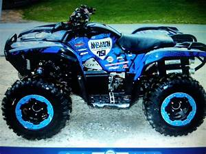 2009 Grizzly 820cc Gncc Race Quad