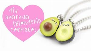 DIY Avocado Friendship Necklace/charms ! Kawaii Friday