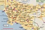 Map of Anaheim California - TravelsMaps.Com
