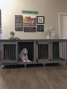 best 25 dog crate furniture ideas on pinterest puppy With dog den furniture
