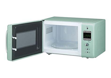 daewoo korlbkm retro style microwave oven     mint