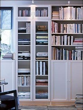 White Billy Bookcase Ikea by Storage Bookcase With Doors Foter