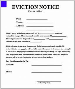 eviction notice form south carolina template resume With eviction notice template nc
