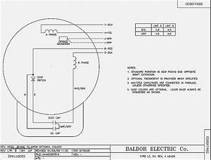 Baldor 5 Hp Motor Wiring Diagram