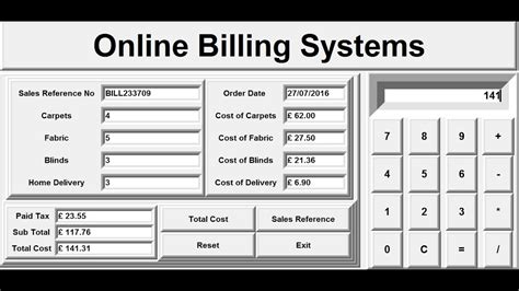 create billing systems  python full tutorial
