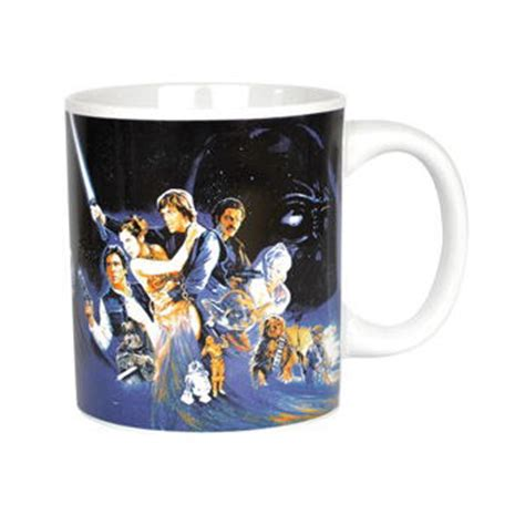 New Star Wars Return Of The Jedi Boxed Mug Retro Coffee
