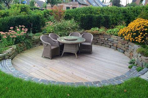 Gartengestaltung Mit Holzterrasse by Holzterrassen Holz Im Garten Gartenbau Zanders