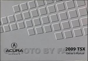 Car  U0026 Truck Owner  U0026 Operator Manuals 2009 Acura Tsx Owners