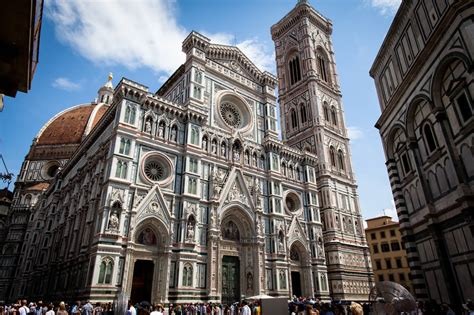 Florence Cathedral Front View Image