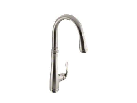 Kohler K 560 Vs Bellera Pull Down Kitchen Faucet Vibrant