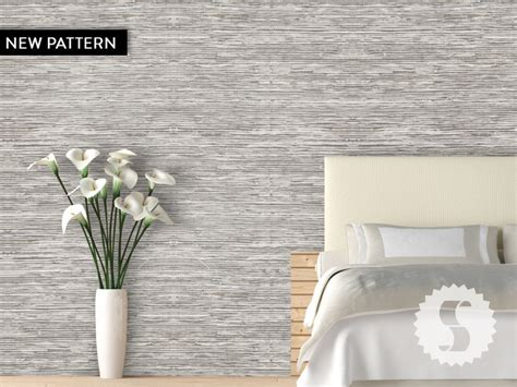 grasscloth removable temporary wallpaper taupe