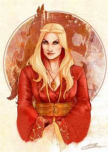Cersei Lannister Color Commission by LORENA-CARVALHO on ...
