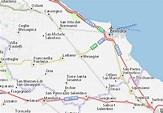 Mappa MICHELIN Mesagne - Pinatina di Mesagne ViaMichelin