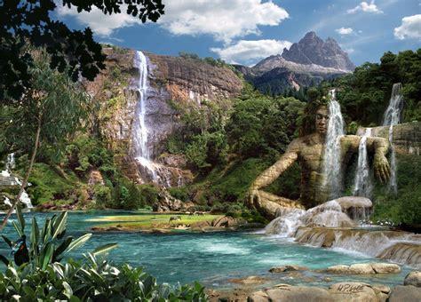 Free Hq 313 Waterfalls A Wallpaper