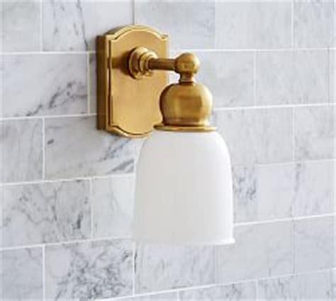 bathroom lighting pottery barn