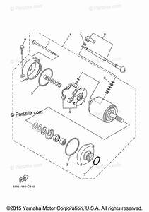 Yamaha Side By Side 2006 Oem Parts Diagram For Starting Motor