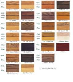 zar wood stain color chart pine oak paint colors for