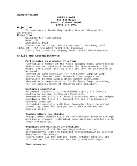resume wording resume ideas