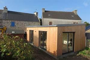 Extension Ossature Bois : maison ossature bois au conquet maisons bois acacia ~ Melissatoandfro.com Idées de Décoration