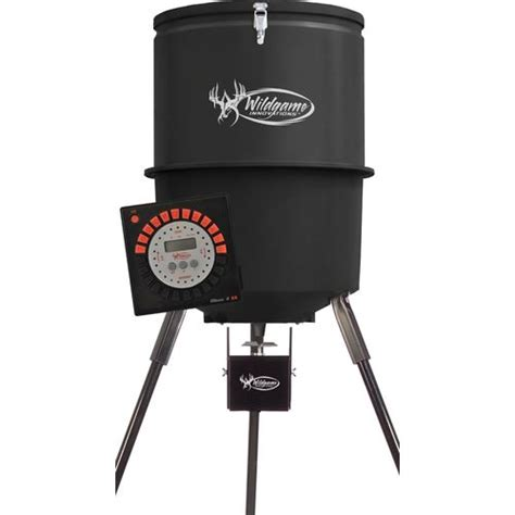 wildgame innovations feeder timer academy wildgame innovations trophy 30 gallon