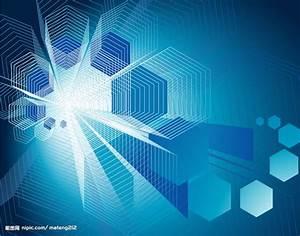 蓝色蜘蛛网式科技背景矢量图__其他_现代科技_矢量图库_昵图网nipic.com