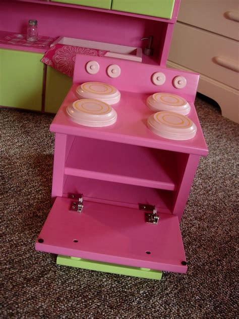 18 inch doll kitchen furniture kitchen furniture set for american doll or 18 inch