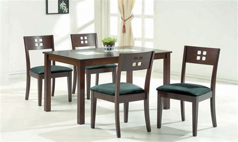 Dining room sets glass, modern glass top dining table set