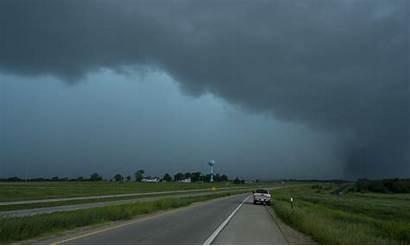 Tornado Kansas Tornadoes Ks Lawrence Midwest Linwood