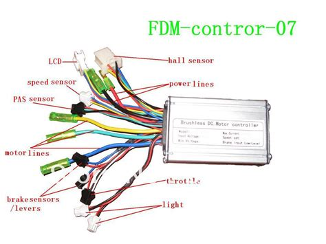 electric bike sine wave controller with sensor lcd display throttle light in other sports